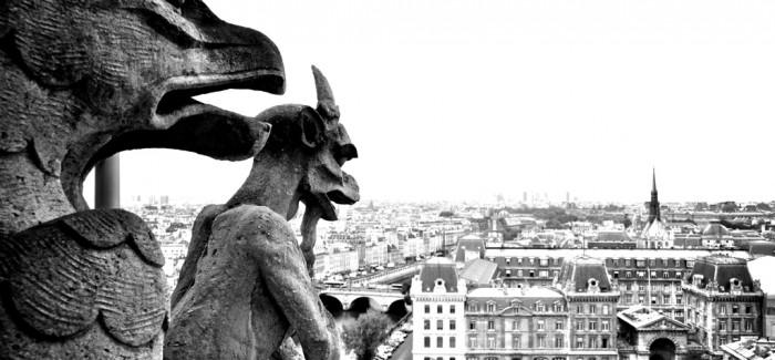 LE VIEUX PARIS: L'illa de la Cité